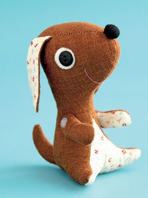 Easy Stuffed Puppy Pattern