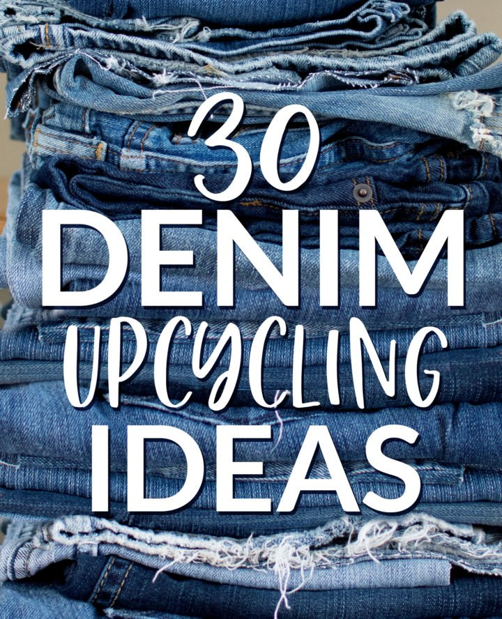 30 Denim Upcycling Ideas on scratchandstitch.com