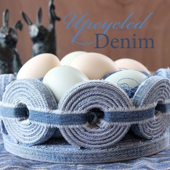 Denim Basket