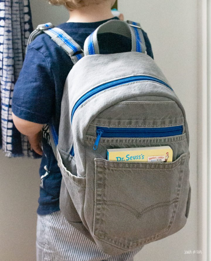 Small Toddler Backpack | Scratch and Stitch