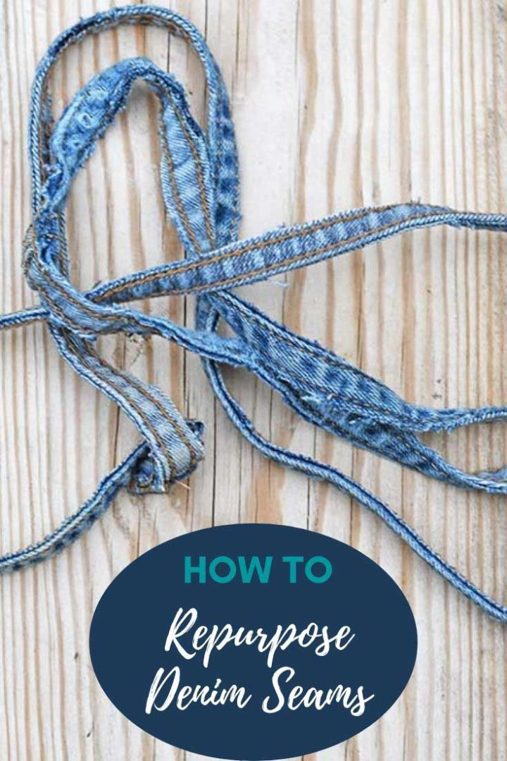 How to Upcycle Denim Jeans
