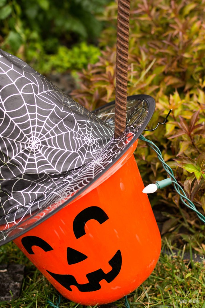 Dollar Store Halloween Decorations Outdoor by Scratch and Stitch