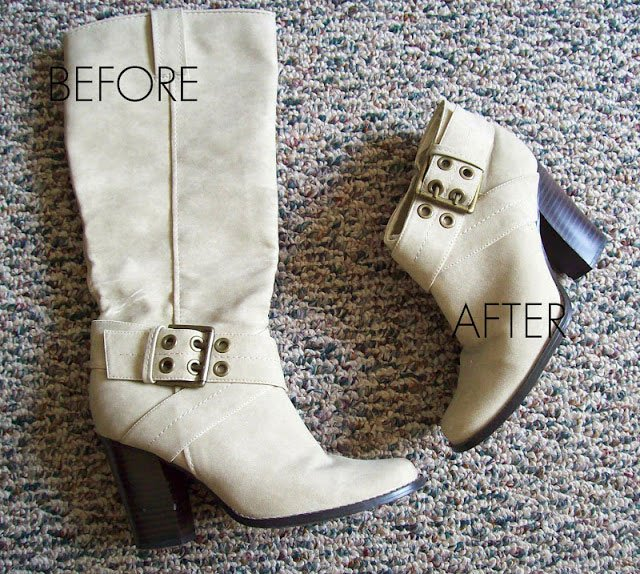 How to Shorten Boots