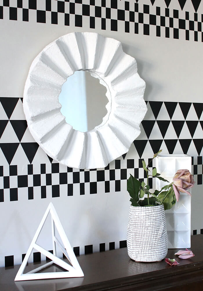 Unique DIY Mirror Frame